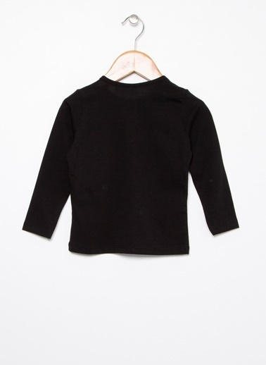 Mammaramma Mammaramma Baskılı Siyah Bebek T-Shirt Siyah